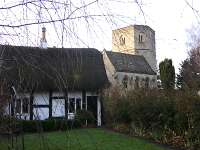 Church and cottage